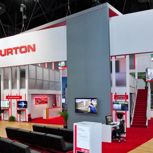 Halliburton – Stand en îlots