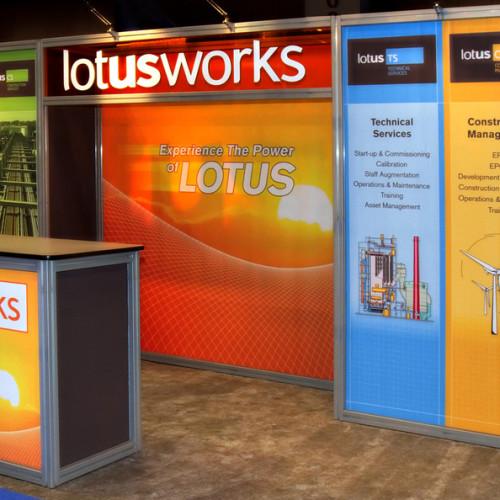 Lotusworks Inline Exhibit