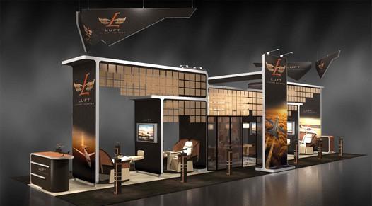 Trade Event Stands : Creating trade show displays for an event skyline montréal