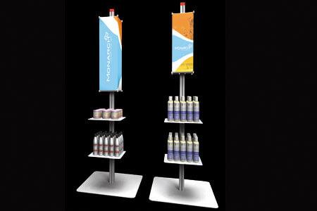 marchandisage: Présentoirs pour produits